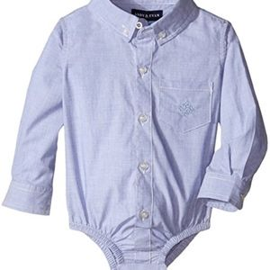 NWT Andy & Evan Baby Boy Classic Shirtzie, 18-24M